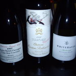 AMS+ - 2008/12/26: BYOで持ち込んだ3本のワイン