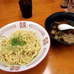 朱鳶 - 東京つけ麺(300g) 700円 麺の量を200g~400gに変更しても同額