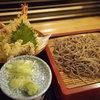 そば喜邐 山く - 料理写真:天ぷらざるそば