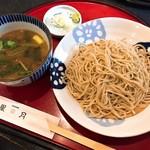 星月 - 料理写真:きざみ鴨せいろそば(1,030円)