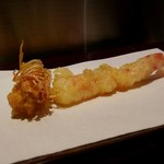 天麩羅とお蕎麦 三輪 - 車海老