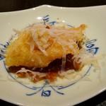 天麩羅とお蕎麦 三輪 - 何かのお魚…。