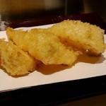 天麩羅とお蕎麦 三輪 - 茄子NGなので、筍❤