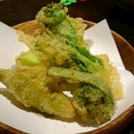 天麩羅とお蕎麦 三輪 - 山菜