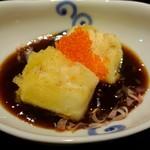 天麩羅とお蕎麦 三輪 - 烏賊のおかんソース