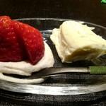 天麩羅とお蕎麦 三輪 - デザート