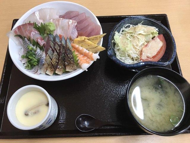 海鮮 一八 , 海鮮丼定食=980円 税込