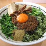 濃厚担々麺 はなび - 料理写真:トロ肉台湾まぜそば(1130円)
