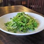 中国家常菜 燕郷房 - 青唐辛子とパクチーのサラダ