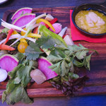 104211888 - 季節の無農薬野菜のバーニャカウダ