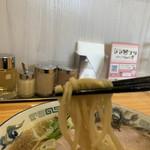 麵屋春馬 - 麺上げ⤴️