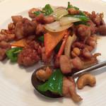 香福園 - 鶏肉のカシューナッツ炒め