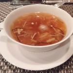 104216903 - 干し貝柱入り五目スープ