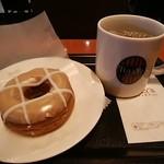 タリーズコーヒー - チャイミルクティードーナツ、コーヒー