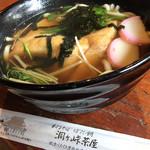 洞ケ峠茶屋 - キツネ(うどん)450円。美味しいです。