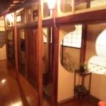 松鯉 - 照明がなんとも