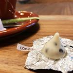 C.cafe - コーヒーに付いてきた小菓子('19.3月上旬)