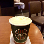 タリーズコーヒー - ピーチコンフィチュール ロイヤルミルクティー