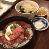 季節料理 なか一 - 料理写真:日替り定食 鮪づけ丼  700円