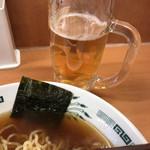 日高屋 - ビール