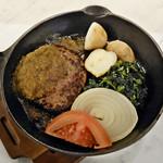 ローマイヤレストラン - 自家製手ごねハンバーグ 和風大葉おろしソース
