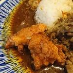 中華料理 八戒 - スパイシー鶏天カリイ