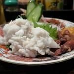 炭火焼 みや澤 - 鱧の湯引き