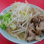 松平 - 料理写真:豚バラもやキャベラーメン