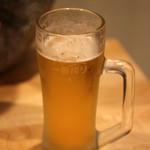 もつ鍋弥さか - 生ビール