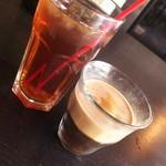 104228890 - アイスティー、コーヒーゼリー♪