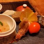 Kappouyamabe - 前菜 五種盛り合わせ