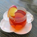mi cafe - りんご屋さんのアップルティー(ホット)