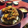 天久 - 料理写真:かき揚げ丼(中サイズ)