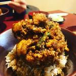 天久 - かき揚げ丼(中サイズ)