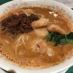 龍鳳 - 海老とひき肉ミックス担々麺