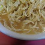 ラーメン二郎 - この乳化スープ一番かも