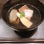 Ginzayoshizawa - タケノコとメバルの吸い物