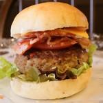 パンのかおり - 料理写真:「極厚 ! プレミアムハンバーガー」