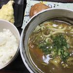 さぬき麺道 - カレーうどんセット(850円)