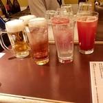 スタンドコロッケ - 乾杯のドリンク7名分