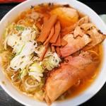 大勝軒 - 料理写真:らーめん少なめ(ネギ多め)