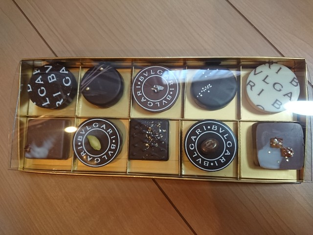 new style 70b42 e8008 ブルガリ イル・チョコラート 松屋銀座 - 銀座/チョコレート ...