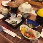 清流 - 料理写真:201903夕食