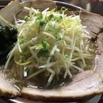 立川 - あっさり味 ネギチャーシューメン 1000円  大盛り 10円