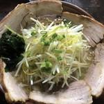 立川 - ネギチャーシューメン  美味しい❗️
