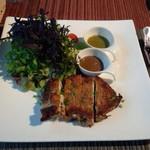 ロビーカフェ - ハーブチキンのロースト(1200円)