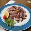 ねんりん - 料理写真:地鶏タタキ