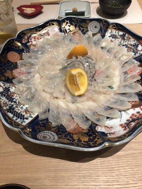 臼杵ふぐ 山田屋 丸の内の料理の写真