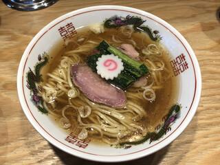 キング製麺 - 「醤油ラーメン」800円