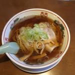 仙台中華 織田屋 - 煮干中華 大盛 600円